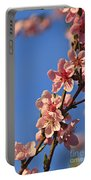 Flowering Peach Tree Portable Battery Charger