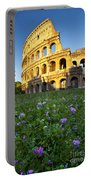 Flowers At The Coliseum Portable Battery Charger