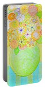 Flowers In Heaven Portable Battery Charger