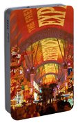 Fremont Street Experience Las Vegas Nv Portable Battery Charger