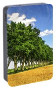 French Country Road Portable Battery Charger