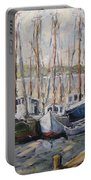 Full House By Prankearts Fine Art Portable Battery Charger