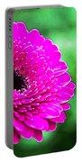 10188 Purple Gerbera Portable Battery Charger
