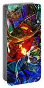 Glass Abstract 691 Portable Battery Charger