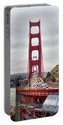 Golden Gate Bridge - San Francisco California Portable Battery Charger