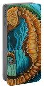 Golden Seahorse Portable Battery Charger