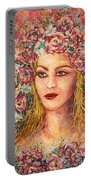 Good Fortune Goddess Portable Battery Charger