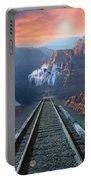 Grand Canyon Collage Portable Battery Charger