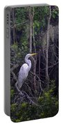 Lowcountry Marsh White Heron Portable Battery Charger