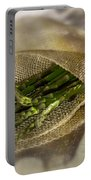 Green Asparagus On Burlab Portable Battery Charger