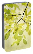 Green Foliage Series Portable Battery Charger