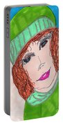 Green Hat  Portable Battery Charger