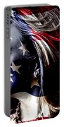 Hillary 2016 Portable Battery Charger by Marvin Blaine