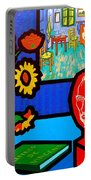 Homage To Vincent Van Gogh Portable Battery Charger