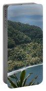 Honomanu - Highway To Heaven - Road To Hana Maui Hawaii Portable Battery Charger
