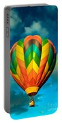 Hot Air Balloon Portable Battery Charger by Robert Bales