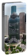 Houston Skyline Portable Battery Charger