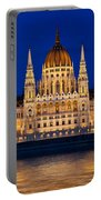 Hungarian Parliament In Budapest Portable Battery Charger