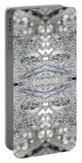 Ice Storm Abstract Portable Battery Charger