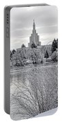 Idaho Falls Temple Portable Battery Charger
