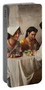 In A Roman Osteria Portable Battery Charger