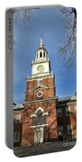 Independence Hall In Philadelphia Portable Battery Charger