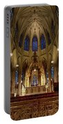Inside St Patricks Cathedral New York City Portable Battery Charger