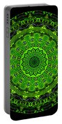 Kaleidoscope Of Glowing Circuit Board Portable Battery Charger