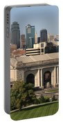 Kansas City Skyline Portable Battery Charger