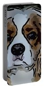 King Charles Art Portable Battery Charger