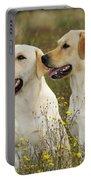 Labrador Retriever Dogs Portable Battery Charger