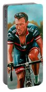 Lance Armstrong Portable Battery Charger by Paul Meijering