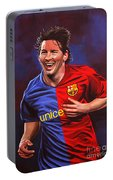 Lionel Messi  Portable Battery Charger