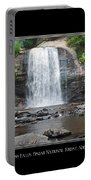 Looking Glass Falls North Carolina Portable Battery Charger