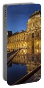 Louvre Reflections Portable Battery Charger by Brian Jannsen