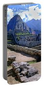Machu Picchu Peru Portable Battery Charger