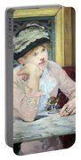 Manet's Plum Brandy Portable Battery Charger
