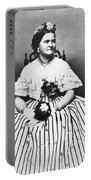 Mary Todd Lincoln (1818-1882) Portable Battery Charger