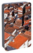 Medieval Town Rooftops Portable Battery Charger