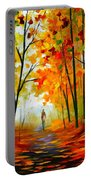 Melody Of Autumn Portable Battery Charger