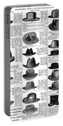 Men's Hats, 1895 Portable Battery Charger
