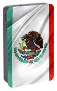 Mexican Flag Portable Battery Charger