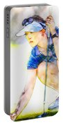Michelle Wie - Third Round Of The Lpga Lotte Championship Portable Battery Charger