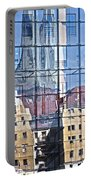 Mirror On The Wall Portable Battery Charger by Heiko Koehrer-Wagner