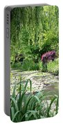 Monets Waterlily Pond Portable Battery Charger