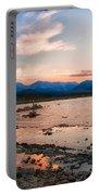 Mono Lake Sunset Portable Battery Charger