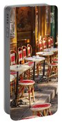 Montmartre Cafe Portable Battery Charger