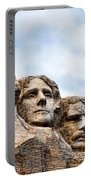 Mount Rushmore Monument Portable Battery Charger