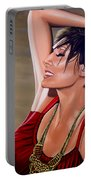 Natalie Imbruglia Painting Portable Battery Charger