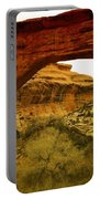 Natural Bridge Portable Battery Charger by Jeff Swan